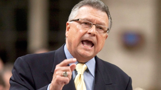 Liberal deputy leader Ralph Goodale rises to question the government during Question Period in the House of Commons on Parliament Hill in Ottawa, Thursday October 7, 2010. (Adrian Wyld / THE CANADIAN PRESS)