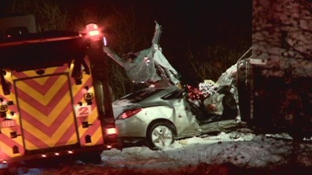 Saskatoon firefighters used rescue tools