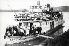 The SS City of Medicine Hat sank in 1908