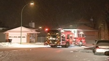 Saskatoon firefighters were called out at 2:30 a.m