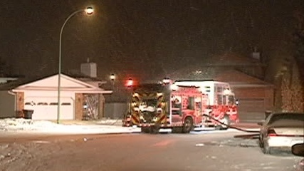 Saskatoon firefighters were called out at 2:30 a.m. to a house fire in the Lakeridge neighbourhood.