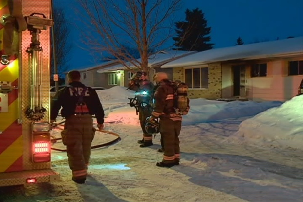 A fire Wednesday caused an estimated $125,000