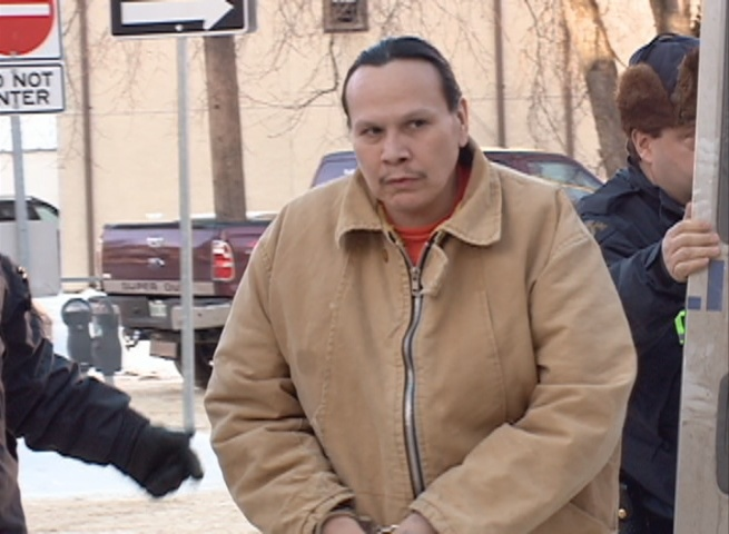Arnold Halkett was in Court of Queen's Bench in Saskatoon for a sentencing hearing