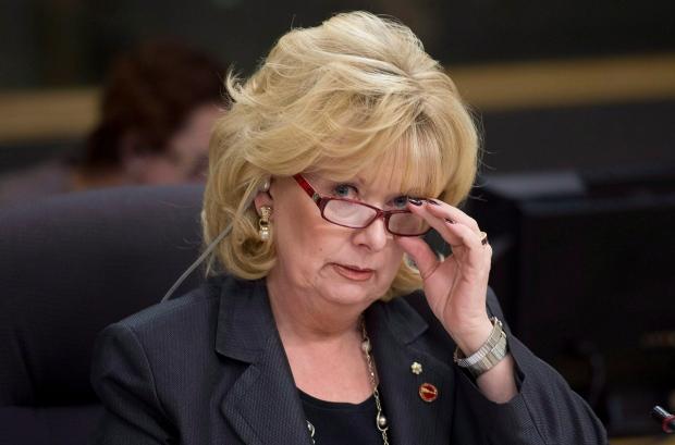 Saskatchewan Senator Pamela Wallin