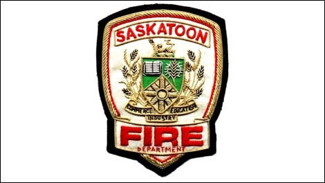 Saskatoon firefighters responded early Tuesday to a report of smoke at a Broadway Avenue laundromat.