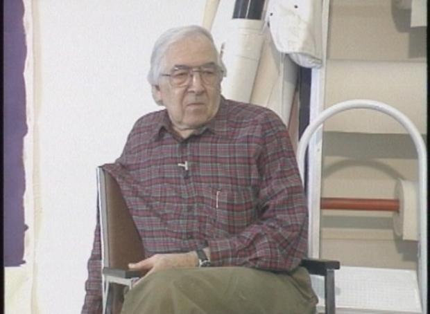 Artist William Perehudoff in 1994