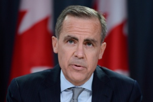 Bank of Canada Governor Mark Carney speaks with the media in Ottawa on Apr. 17, 2013. (Adrian Wyld/THE CANADIAN PRESS)