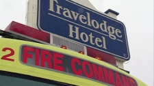 A chemical reaction at the Travelodge on Circle Drive in Saskatoon has caused concern. Police have evacuated parts of the hotel.