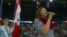 Botched anthem video goes viral