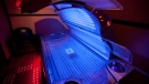 A tanning bed is shown in North Vancouver, B.C. Tuesday, March, 20, 2012. (Jonathan Hayward / THE CANADIAN PRESS)
