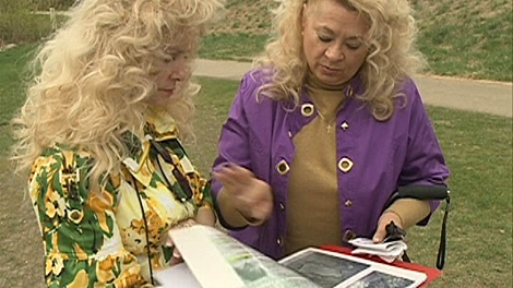 Alexandra Wiwcharuk's nieces, Pattie Storie and Lorain Phillips, are still investigating their aunt's murder.