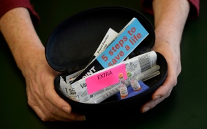 A naloxone kit from Toronto Public Health is shown in a Friday, Feb. 14, 2014 photo. (Frank Gunn / THE CANADIAN PRESS)
