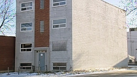 The Minto apartments on 9th Street East are empty and have been for more than seven years while this legal battle has dragged on.