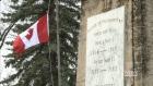 CTV Saskatoon: Thieves pilfer Canadian flags