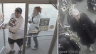 Surveillance footage provided by the Saskatoon police shows three of four persons of interest in relation to a music store robbery last week.