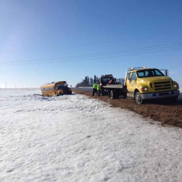 School bus carrying 19 kids rolls near Elfros, Sask. - CTV News