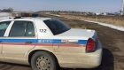 Saskatoon police block off Cedar Villa Estates road near Valley Road after a woman was found injured early Wednesday morning. She later died in hospital, according to police.