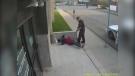 CTV Regina: Police officer kicks homeless man