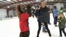 Skaters participate in the 5th Annual Skate4Smiles to raise money for the new provincial children's hospital.