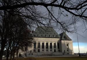 The Supreme Court of Canada in Ottawa is shown on Tuesday, April 14, 2015. (Sean Kilpatrick / THE CANADIAN PRESS)