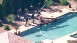 Girl killed in pool swing accident