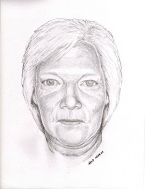 Kamloops RCMP have released an age progression sketch of Edna Bette-Jean Masters, who disappeared from the Red Lake area north of the city in July 1960, when she was 21-months-old. (Supplied Photo RCMP / The Canadian Press)