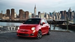 "This undated photo provided by Chrysler shows the 2014 Fiat 500. Fiat has announced that it will be unveiling a new version of its iconic ""500"" model this summer.(AP /Chrysler)"