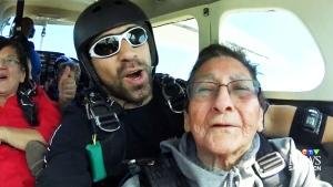 CTV Saskatoon: Skydiving senior