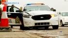 CTV Saskatoon: Police cruiser hits light post
