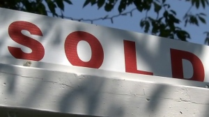 Real estate 'Sold' sign