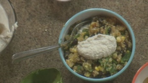 Wheatland Cafe quinoa salad