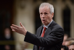 Minister of Foreign Affairs Stephane Dion responds to a question during question period in the House of Commons on Parliament Hill in Ottawa on Feb. 5, 2016. (Sean Kilpatrick / The Canadian Press)