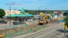 The owner of a Humpty's restaurant in Prince Albert is requesting a tax break, claiming the Big Dig construction over the last few years hurt his business.