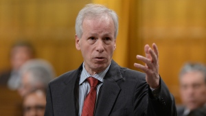 Minister of Foreign Affairs Stephane Dion responds to a question during question period in the House of Commons on Parliament Hill in Ottawa on Friday, Feb. 5, 2016. (Sean Kilpatrick / THE CANADIAN PRESS)