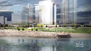 CTV Saskatoon: River Landing taking shape