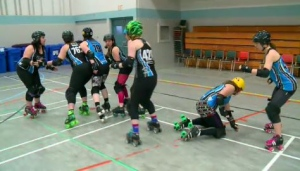 The Prince Albert Roller Derby League is gearing up for their first game of the season.