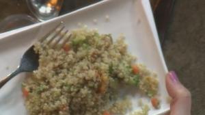 Wheatland Cafe: Quinoa bean salad