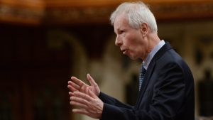 Foreign Affairs Minister Stephane Dion responds to a question during question period in the House of Commons on Parliament Hill in Ottawa on Monday, May 2, 2016. (THE CANADIAN PRESS/Sean Kilpatrick)