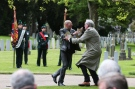 Kevin Vickers tackles protester during ceremony in Dublin