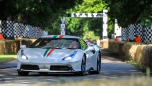 The Ferrari 458 MM Speciale is pictured. (Photo from Ferrari)