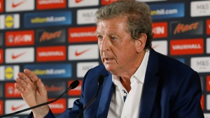 England soccer team coach Roy Hodgson speaks during a press conference in Chantilly, France, Tuesday, June 28, 2016.  (AP /Kirsty Wigglesworth)