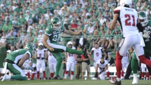Roughriders beat Redblacks for first win of season