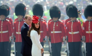 The Duke and the Duchess of Cambridge arrive to take part in Canada Day festivities in Ottawa on July 1, 2011. (THE CANADIAN PRESS/Sean Kilpatrick)