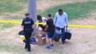 Two injured in fitness class shooting