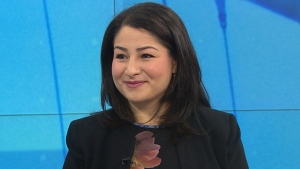 Minister of Democratic Institutions Maryam Monsef appears on CTV's Your Morning Thursday, Sept. 22, 2016.