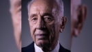 In this Monday, Feb. 8, 2016 photo, Israel's former President Shimon Peres poses for a portrait at the Peres Center for Peace in Jaffa, Israel. A source close to former President Peres said his condition has deteriorated, two weeks after suffering a major stroke. The person did not disclose further details about Peres' worsening condition. He spoke Tuesday on condition of anonymity because he was not authorized to discuss Peres' health with the media. (AP Photo/Oded Balilty)