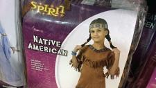 Spirit Halloween Native American costume