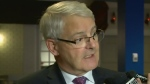 Federal Transport Minister Marc Garneau met with
