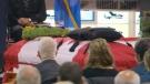 Funeral for Cpt. Thomas McQueen in Hamilton