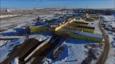 Saskatchewan Hospital progress